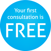 Your first consultation is FREE